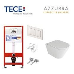 Pakabinamų WC ir rėmų komplektai