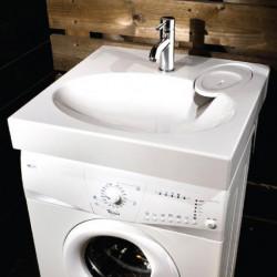 Praustuvai virš skalbimo mašinos