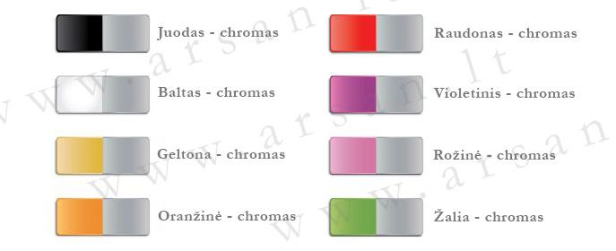 vandens maišytuvų spalvos loft colors